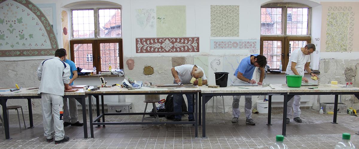 Maler-Werkstatt