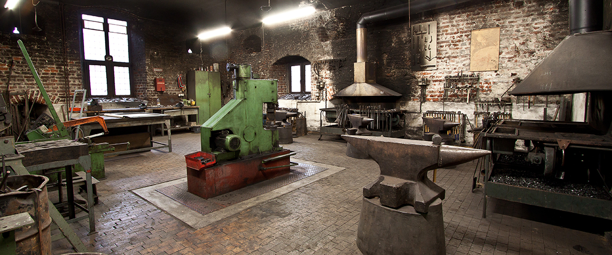 Schmiede-Werkstatt