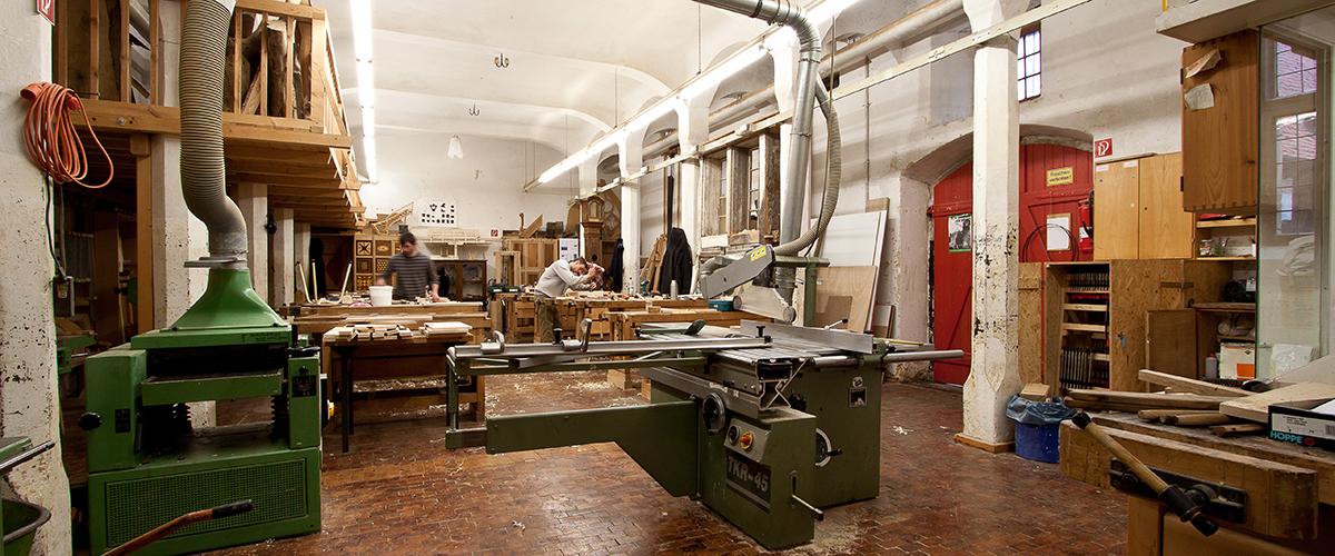 Tischler-Werkstatt
